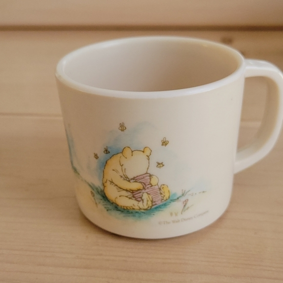 Vintage Disney Winnie-the-Pooh Plastic Cup
